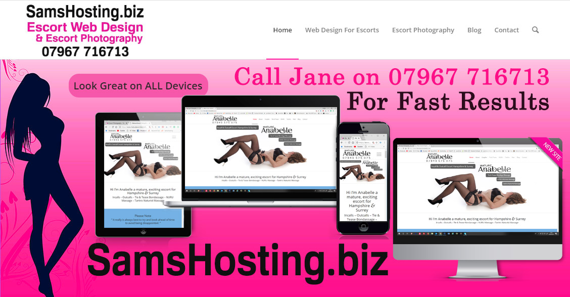 samshosting web design
